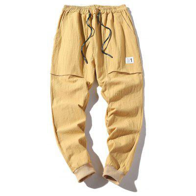 Men's Summer New Nine Pants Trousers Cotton Slim Pants