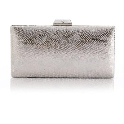 small printing pattern simple dress banquet lady clutch bag