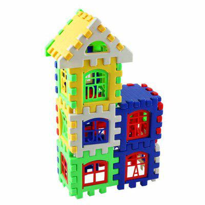DIY New House Shape Puzzle Building Toy