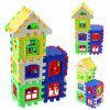 DIY New House forma Puzzle Building Toy - MULTI