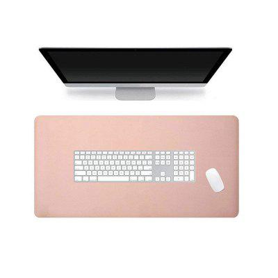 Double-Sided Two-Color Soft PU Leather Super Large Desktop Waterproof Mouse Pad