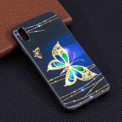 Big Butterfly Painting TPU Phone Case na iPhone Xs Max