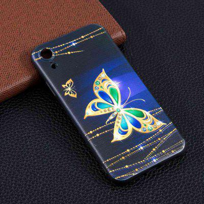 Big Butterfly Painting TPU Phone Case na iPhone Xr