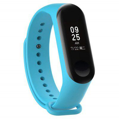 Cinturino in Silicone Intelligente con Anello Anti-perso per Xiaomi Mi Band 4