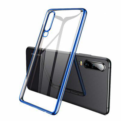 Custodia in gel ultrapiatto in TPU per Huawei P30