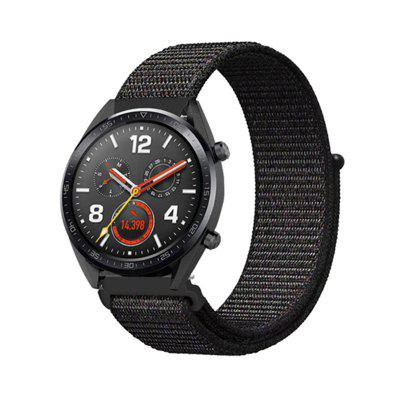 Nylon lus Wrist Strap Watch Band voor Huawei Watch GT / Honor Magic / Watch 2 Pro