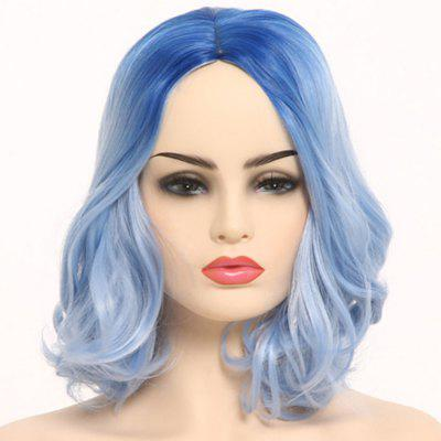Gradient Ramp Central Parting Hair Type Wig