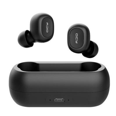 QS1 TWS 5.0 Bluetooth Headset 3D Stereo Wireless Headset with Dual Mic
