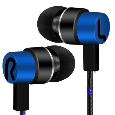 3.5MM Universal Stereo Earphone In-Ear Color Noise Isolation L8 Wire Headset
