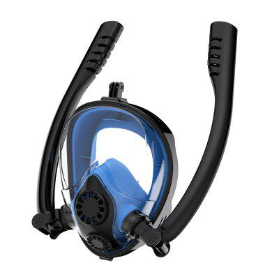 YX-10010 Unidirectional (External) Respiratory Separation Snorkeling Mask