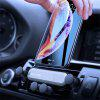 Universal Car Phone Holder Air Vent Gravity Linkage Shock Mount Stand for Phone - SILVER