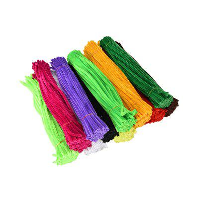 Colorful Twister Rod Woollen Striped Child Educational Toy 100PCS