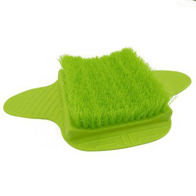 Foot Brush Scrubber-Green