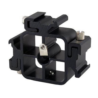3 in 1 Hot Shoe Mount Adapter for Flash Holder Bracket Light Umbrella Holder