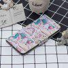 Pink Pony Laser Colorful Phone Case for iPhone Xs / X - MULTI