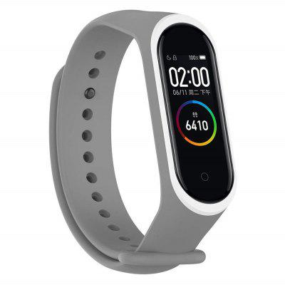 Two-Color Anti-Lost Replacement Strap for Xiaomi Mi Band 4