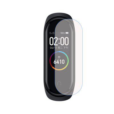 Smart Watch TPU Soft Clear Protective Film For Xiaomi Bracelet 4 10PCS
