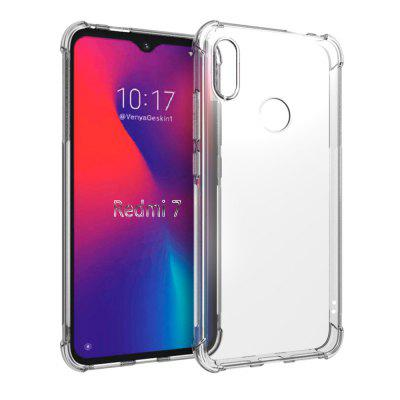CHUMDIY Protection Transparent Soft TPU Silicone Case for Xiaomi Redmi 7