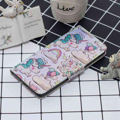 Pink Pony Laser Colorful Phone Case for Huawei P30 Lite / Nova 4E