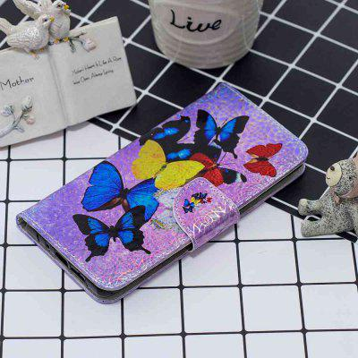 Butterfly Laser Colorful Phone Case for Huawei P30 Lite / Nova 4E