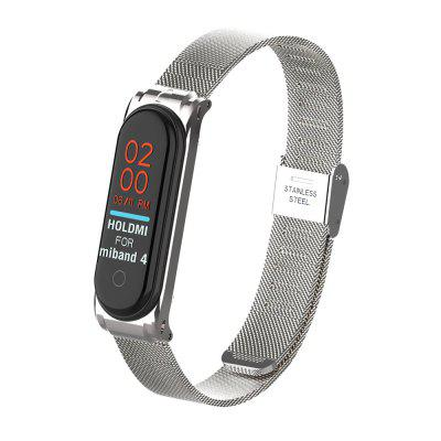 Fashion Smart Bracelet Mesh Watchband for Xiaomi Mi Band 4