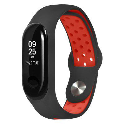 Siliconen armband Strap polsband Wrist Band voor Xiaomi Mi Band 4 / Mi Band 3