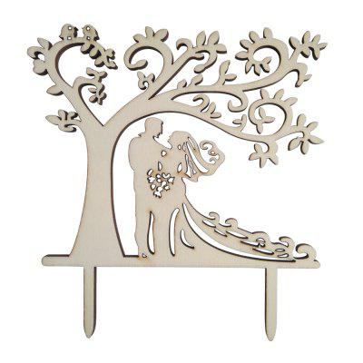 FEIS Under The Love Tree Cake Topper Decoration de mariée et le marié