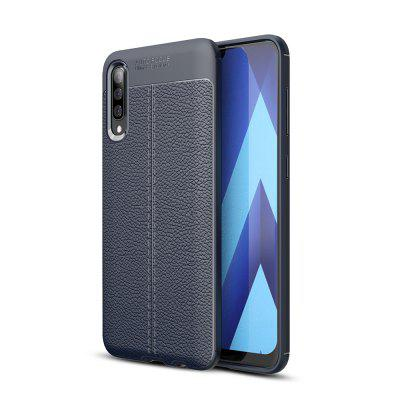 Ultrathin Business TPU Leather Soft Phone Case for Samsung Galaxy A50