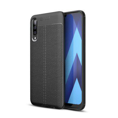 Ultrathin  Business TPU Leather  Soft Phone Case for Samsung Galaxy A70