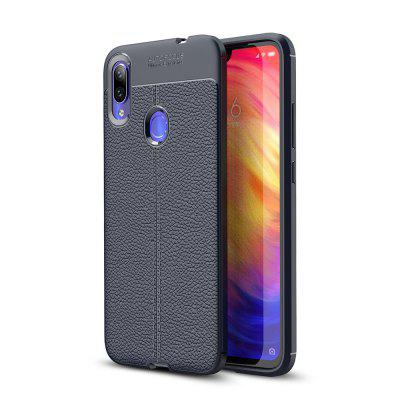 Ultrathin Business TPU - Etui en cuir souple pour Redmi Note 7 / Note 7 Pro