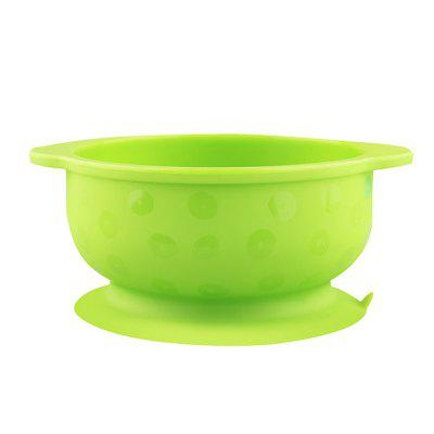 Food Grade Silicone Baby Infant Sucker Tableware Rice Bowl