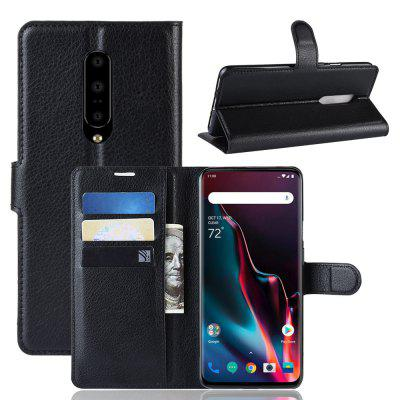 Card Protection PU Leather Phone Case for OnePlus 7 Pro