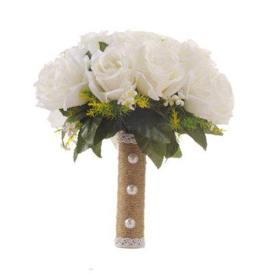 FEIS Festive Party Supplies Delicate Rose Hand Tied Bouquet