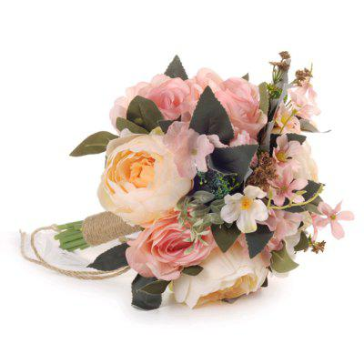 FEIS Fashion Delicate High-Grade Rose and Peony Hand Tied Bouquet