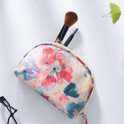 Zipper Makeup Travel Cosmetic Bag Nylon Makeup Storage Bag