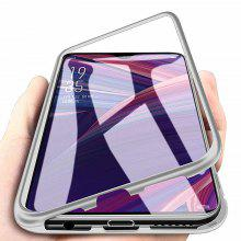 Gearbest price history to Magnetic Metal Tempered Glass Flip Phone Case for OnePlus 7