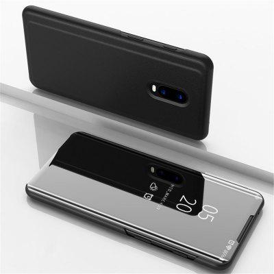Flip Mirror Full Body Phone Case with Stand for OnePlus 7