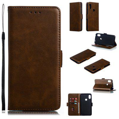 PU Leather Flip Wallet Phone Case para Xiaomi Redmi Note 6 / Nota 6 Pro