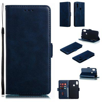 PU Leather Flip Wallet Phone Case for Xiaomi Redmi Note 5 / Note 5 Pro