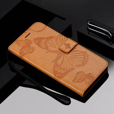 Butterfly Embossed Phone Case for Xiaomi Redmi 7