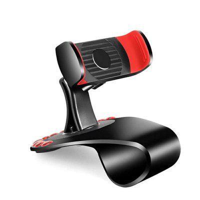 360-Degree Rotation Car Phone Holder + Temporary Parking Number