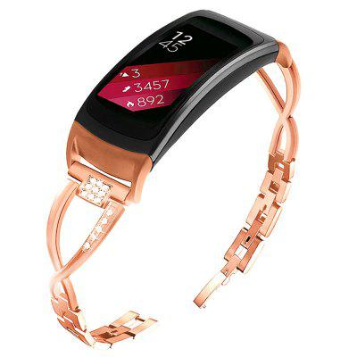Jewelry Design Stainless Steel Bracelet Strap for Samsung Gear Fit 2 Watch Band