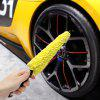 Multi-Function Auto Car Wheel Cleaning Brush - YELLOW