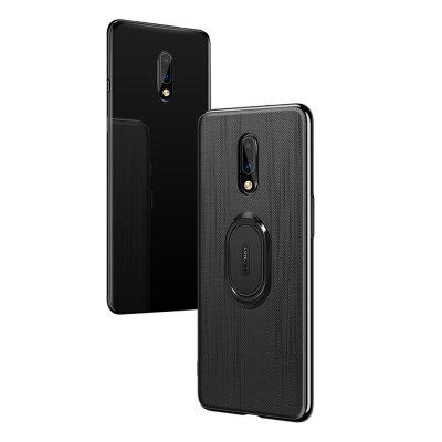 Ring Buckle Protective Magnetic Phone Case for OnePlus 7