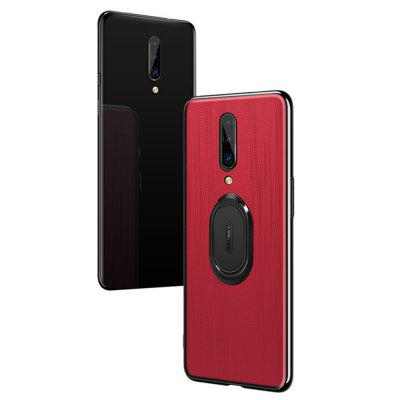 Ring Buckle Protective Magnetic Phone Case for OnePlus 7 Pro