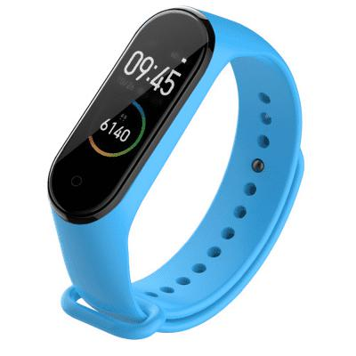 Colorful Silicone Bracelet Replacement Strap For Xiaomi Mi Band 4