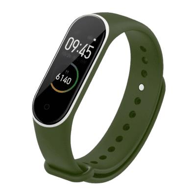 Double Colour Silicone Bracelet Replacement Strap For Xiaomi Mi Band 4