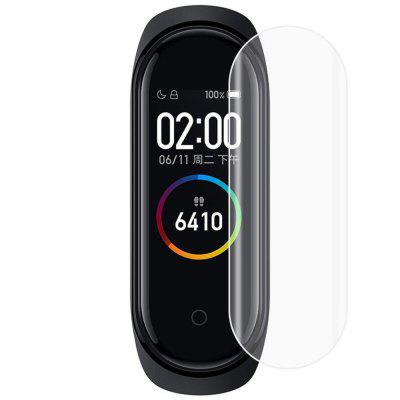 Coperta completa Soft TPU Screen Protector Film pentru Xiaomi Mi Band 4 3PCS