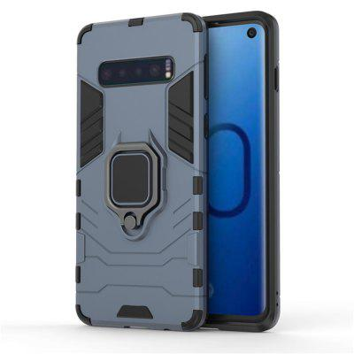 Slim Coque Armor Magnetic Attraction Anti-Knock Phone Case for Samsung S10 / S10 Plus
