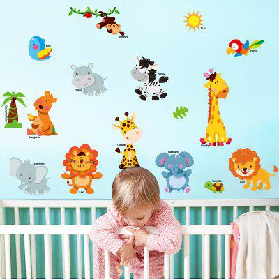Animale de desene animate Animale de desene animate Home Wall Decorative Wall Stickers